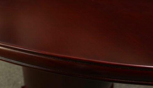 goSIT Merlot Series 6ft Conference Table - Edge Detail