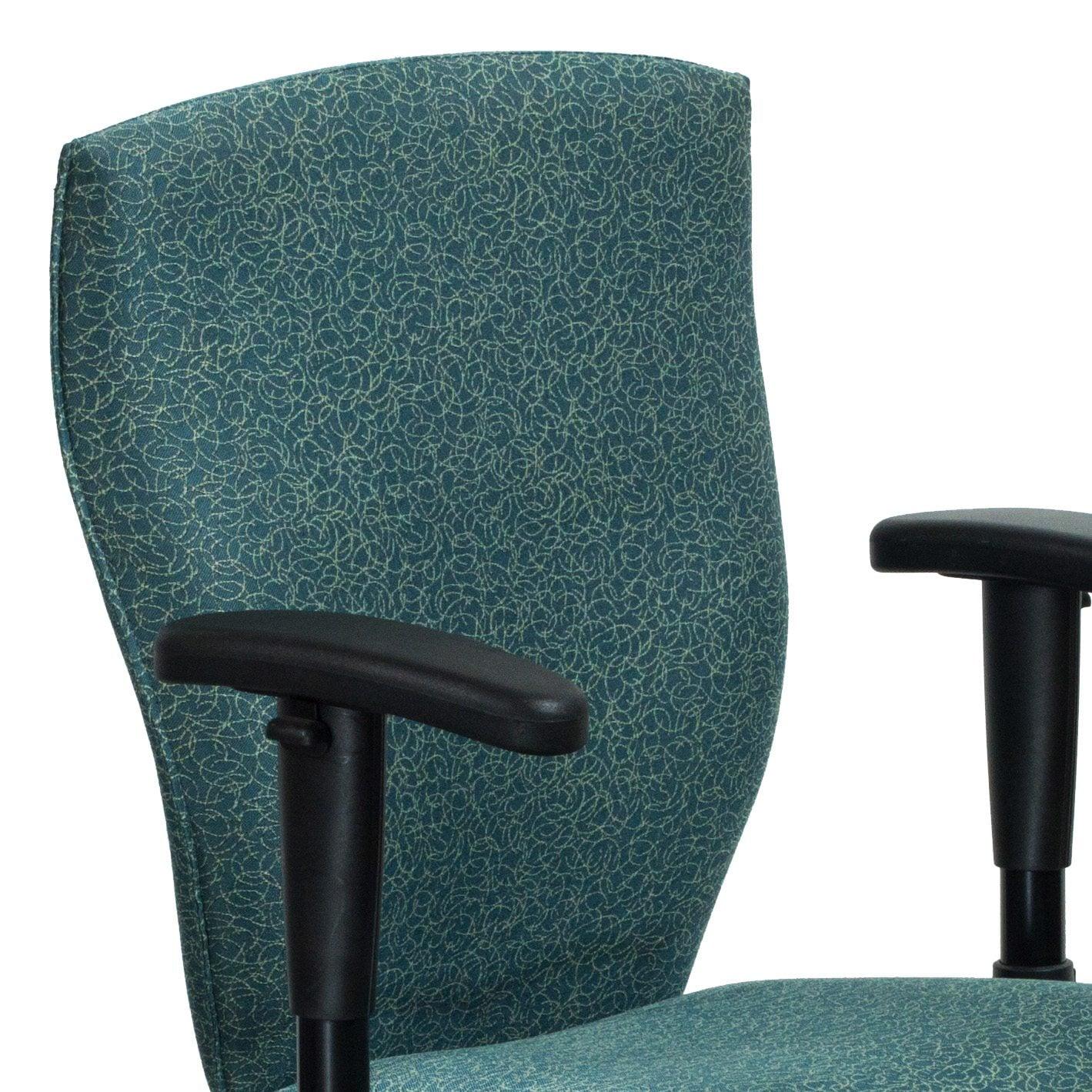 Allsteel Energy Used Task Chair Patterned