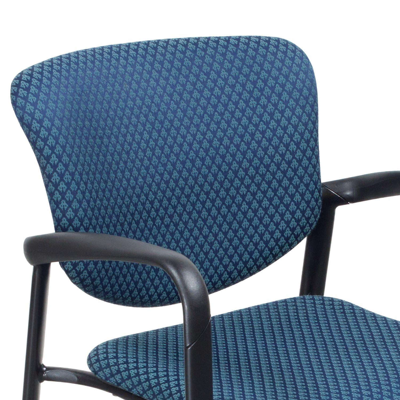 Haworth Improv Used Side Chair Blue Design
