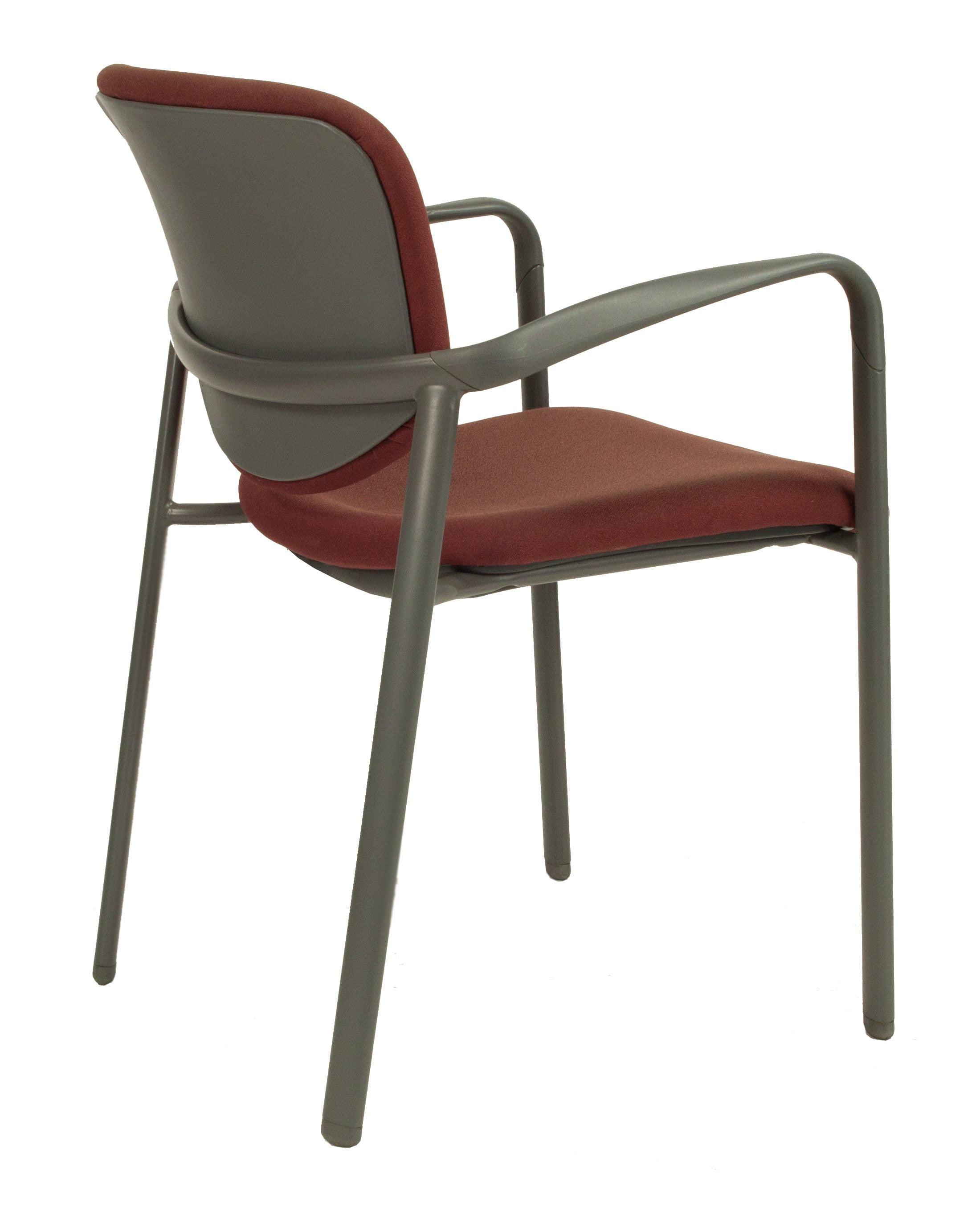 Haworth Improv Used Stack Chair Rust