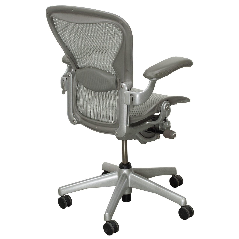 herman miller aeron used size b full function task chair