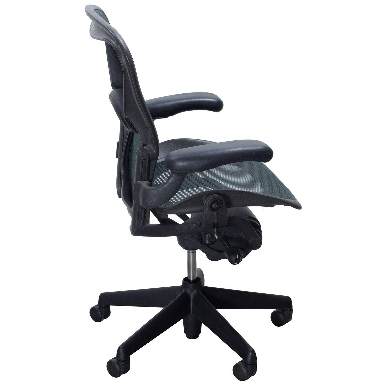 herman miller aeron used size b task chair jade