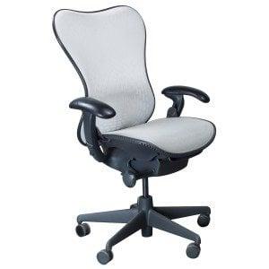 herman miller mirra used mesh airweave seat task chair white