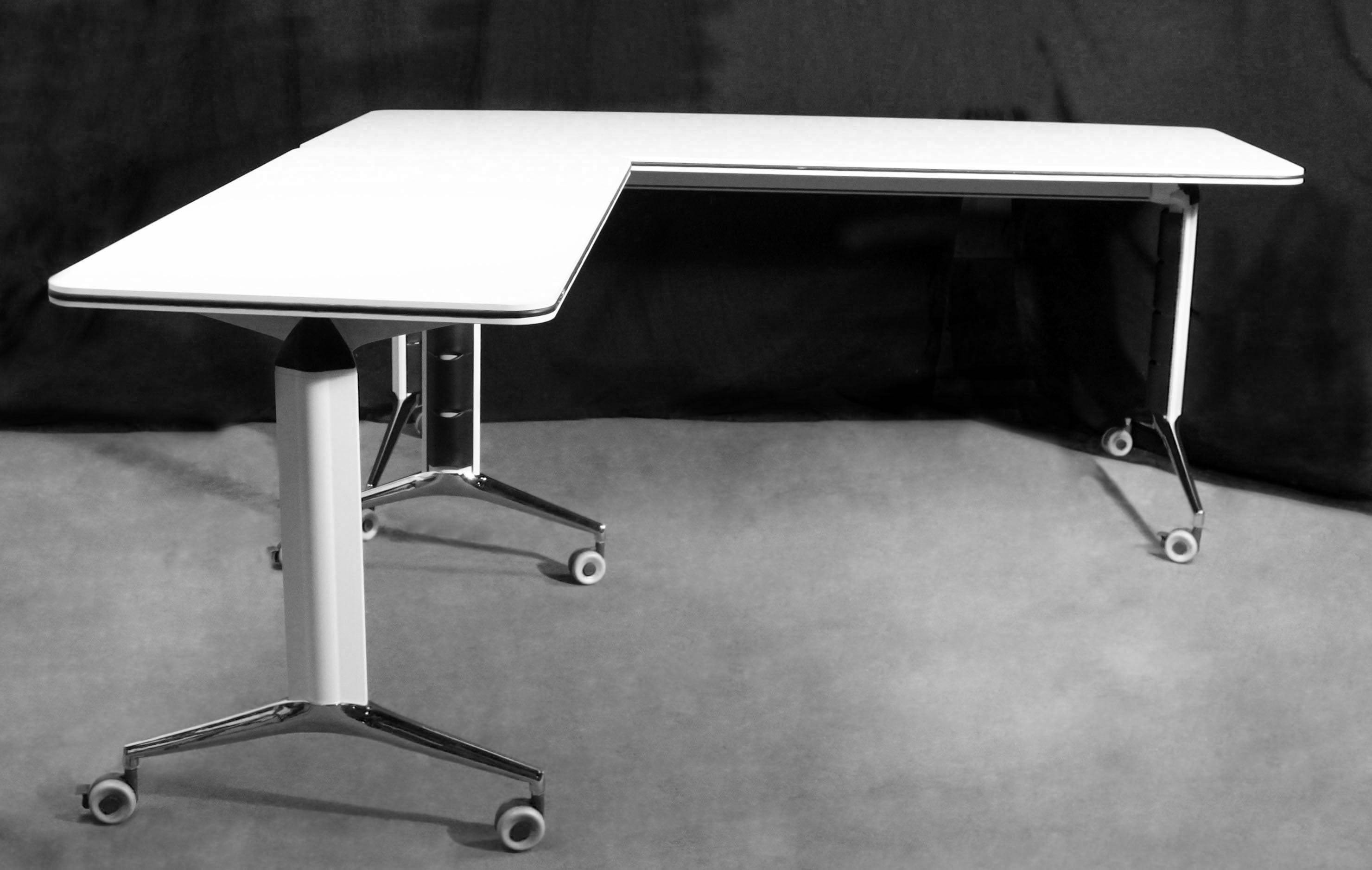 Gosit new mobile nesting training tables white