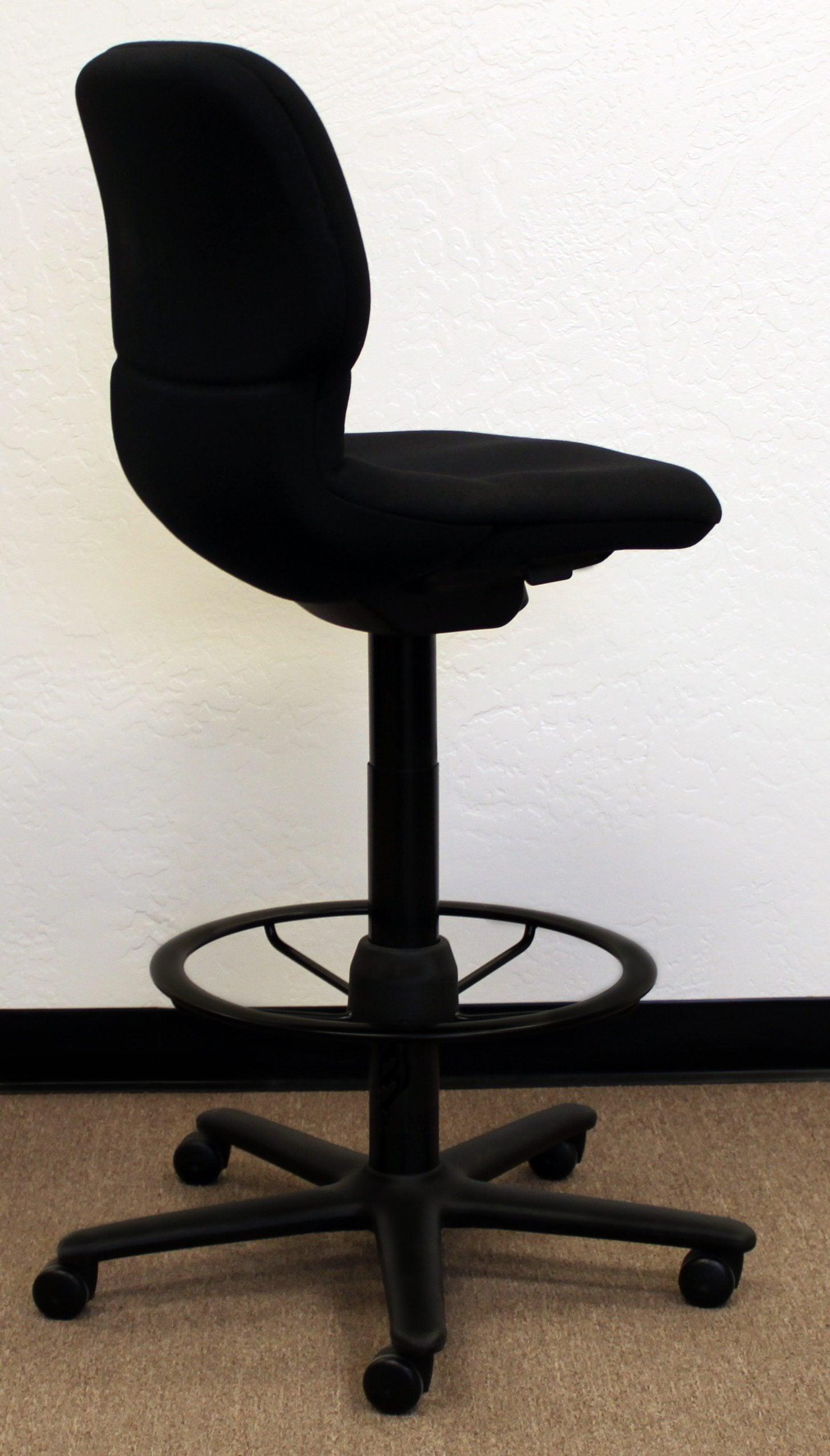 Steelcase Used Sensor Stool Black National Office