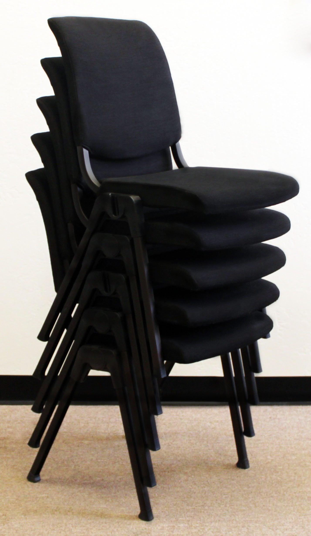 HAG Izzy Design 9510 Conventio Used Stack Chair Black