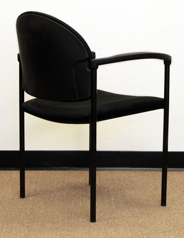 Steelcase Turnstone Springboard Used Stack Chair Black