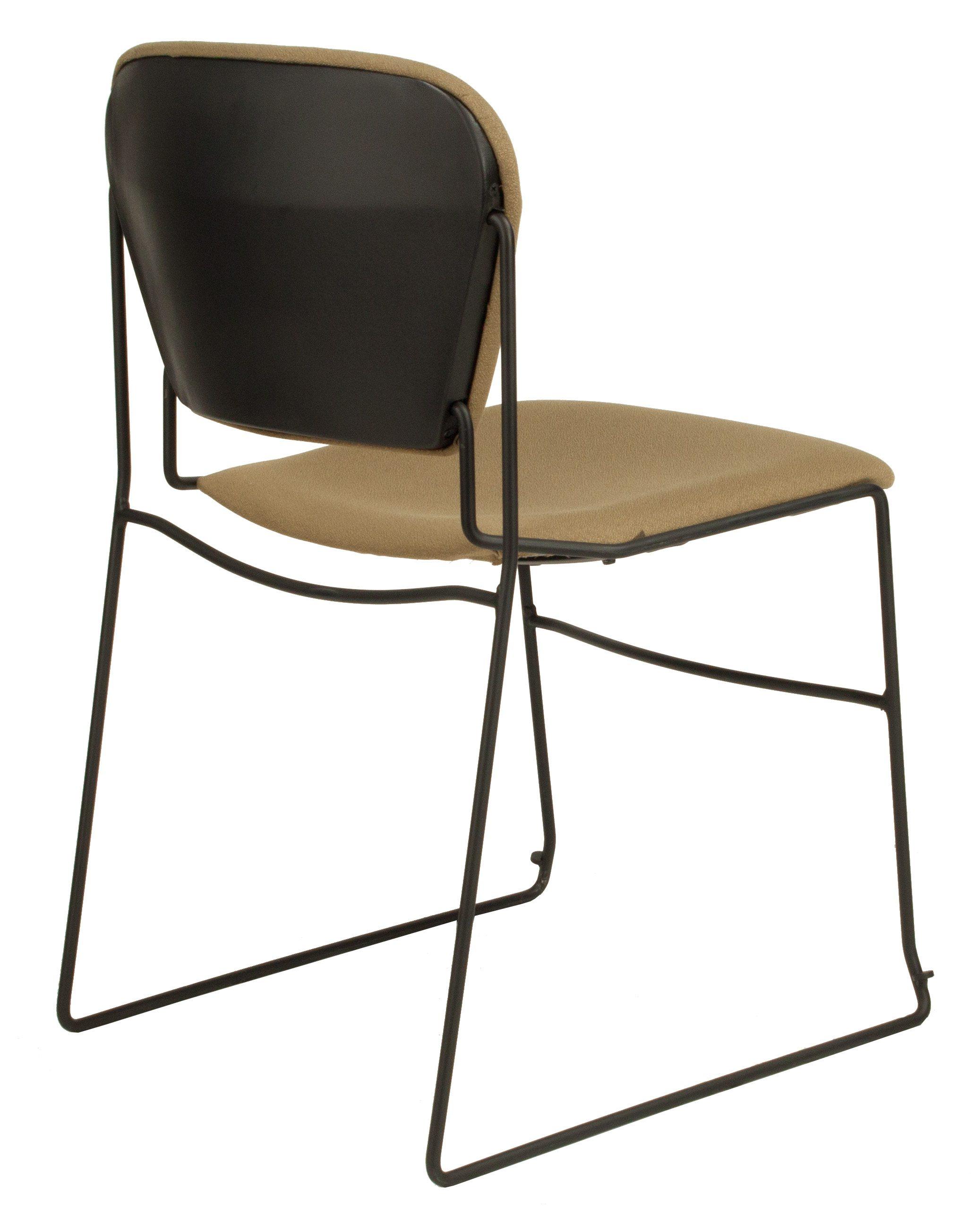 KI Perry Used Stack Chair Tan