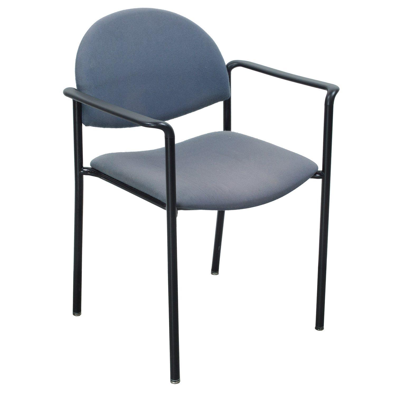 KI Versa Used Stack Chair Slate Blue