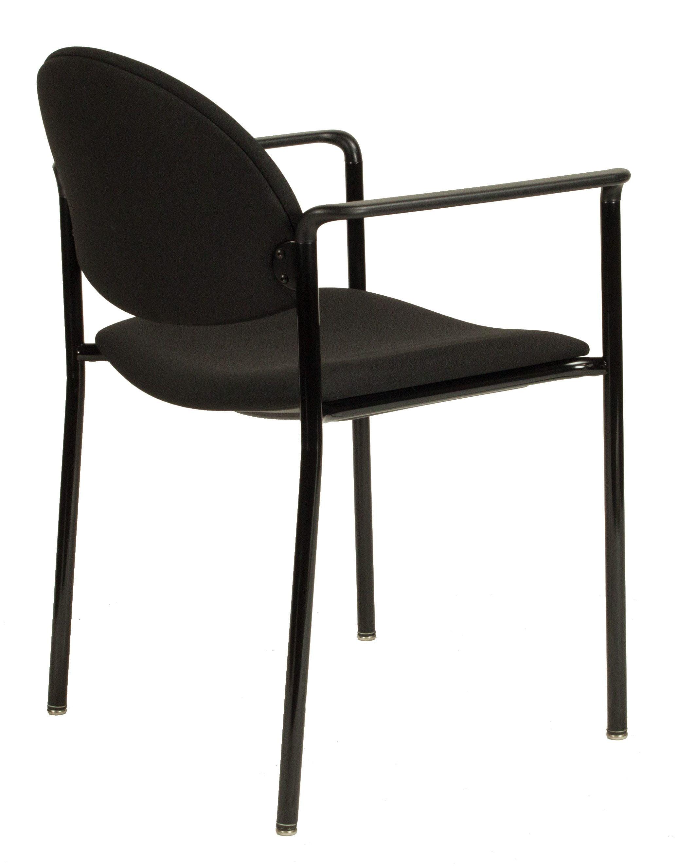 KI Versa Used Stack Chair Black