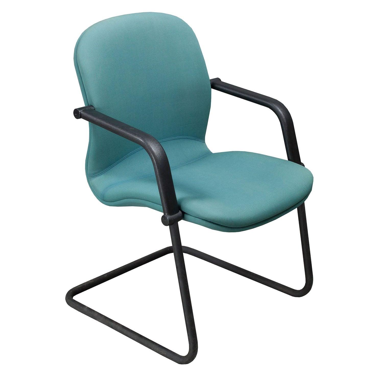 Knoll Reff Used Side Chair Aqua