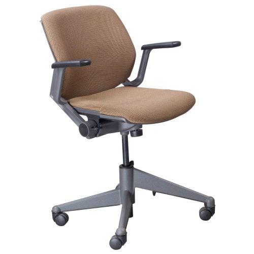 Steelcase Vecta Kart Used Nesting Task Chair Brown Design