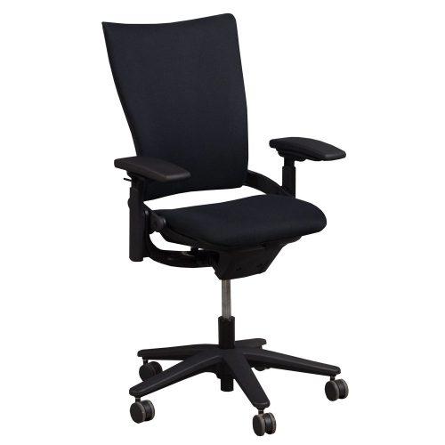 Allsteel Sum Black Task Chair - Front