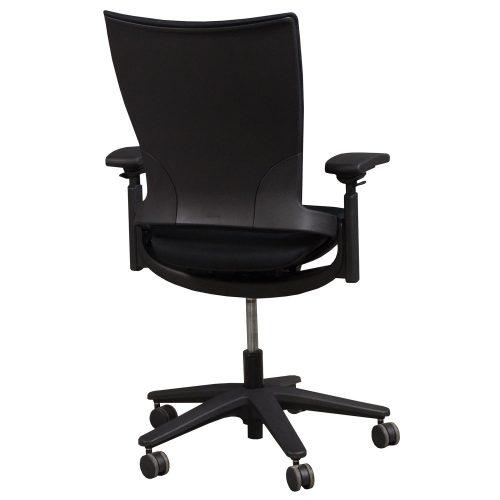 Allsteel Sum Black Task Chair - Back
