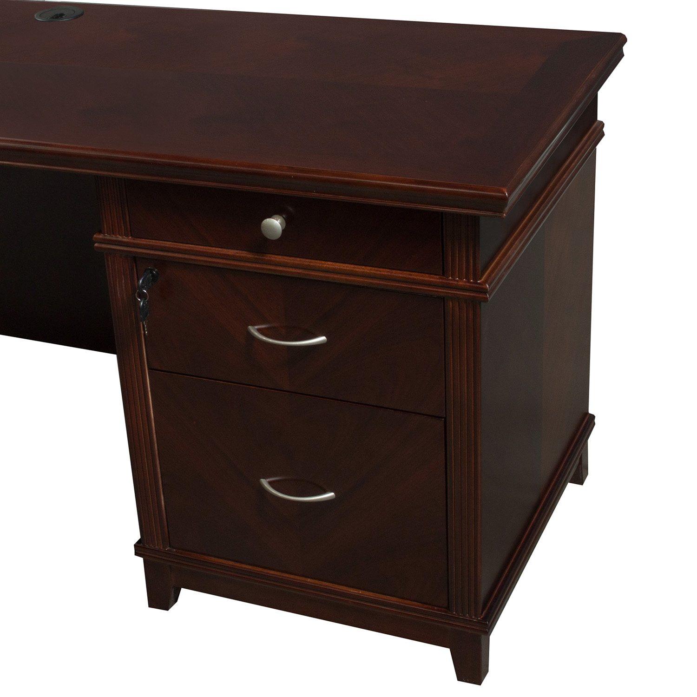 Arlington U-Shape Desk Right Return - Back Pedestal
