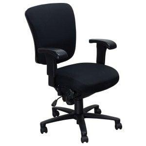Ergonomic Comfort Design-Black Plastic Back-01
