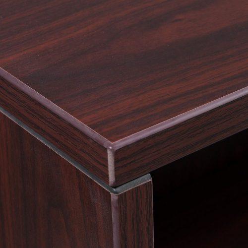 Everyday-Mahognay-3 Shelf-Bookcase-02