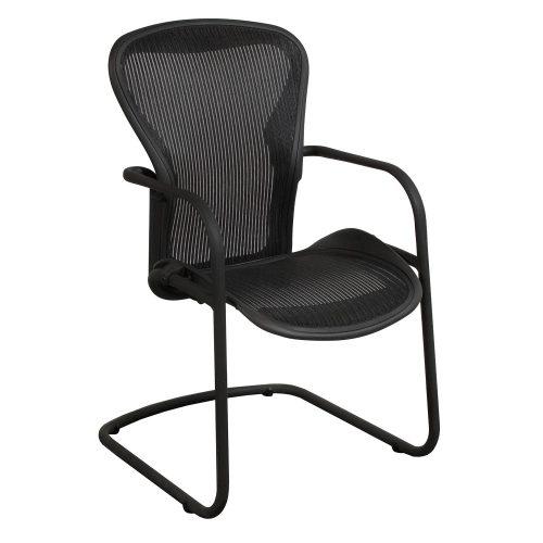 Herman Miller-Aeron-Side Chair-Carbon-01