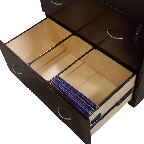 Merlot 4 Drawer Lateral File - Filing