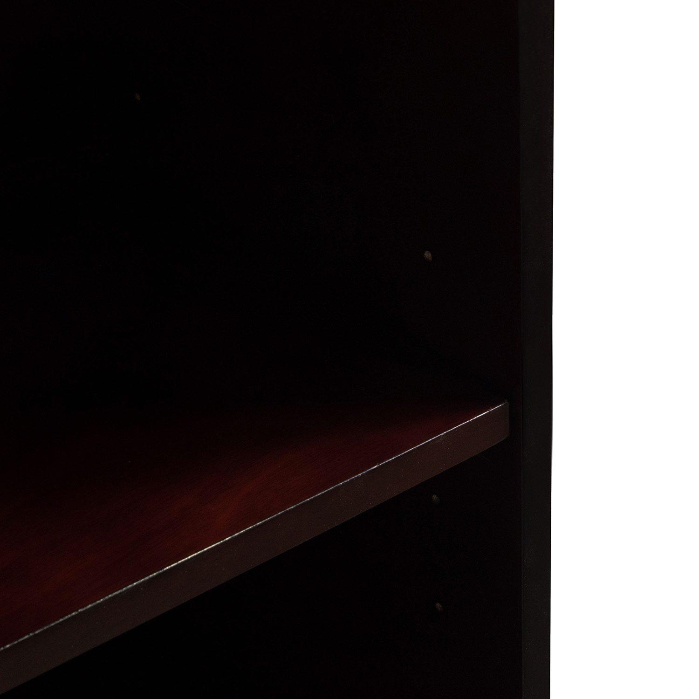 Merlot 5 Shelf Bookcase - Shelf