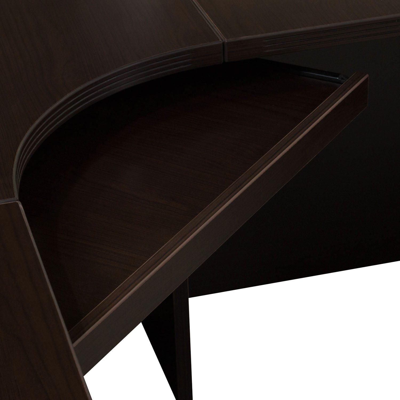 goSIT Rio Reception Desk in Espresso - Keyboard