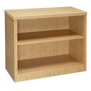 Hollywood-Bamboo-2 Shelf Bookcase--01