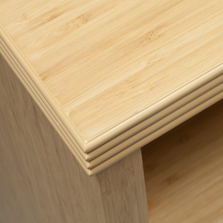 Hollywood-Bamboo-2 Shelf Bookcase--02