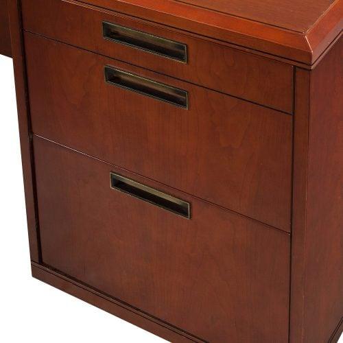 Kimball Used Desk Set Cherry