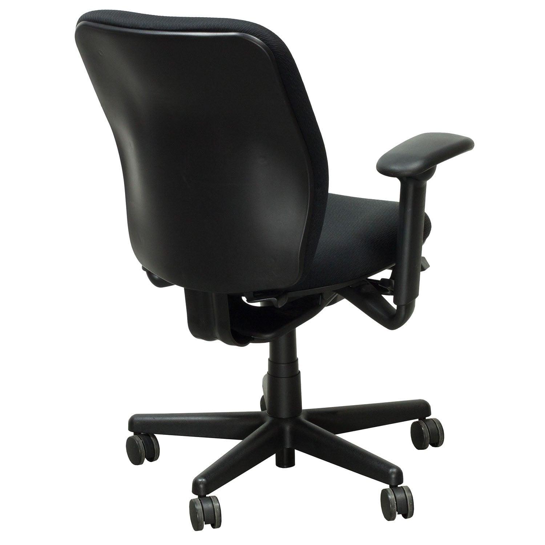 KI Engage Used Task Chair Black Pattern