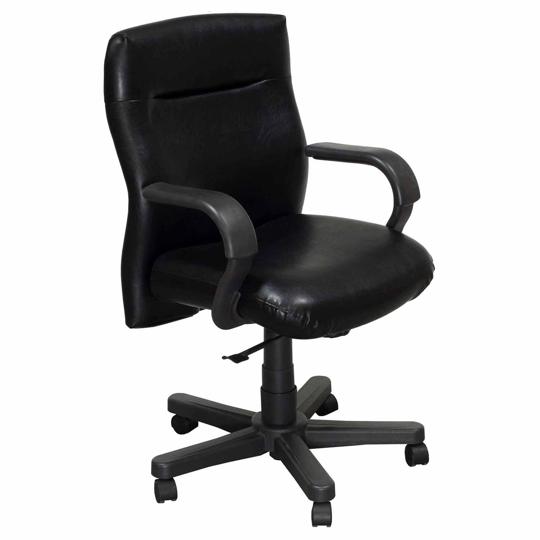 Bulldog Wood Chair ~ Knoll bulldog used executive leather conference chair