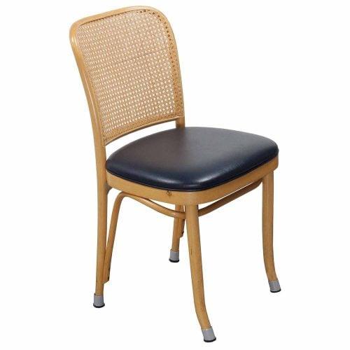 Thonet-Wicker Side Chair-Navy-01