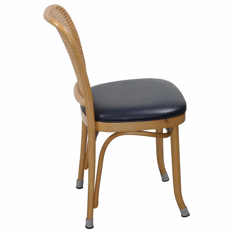 Thonet-Wicker Side Chair-Navy-02