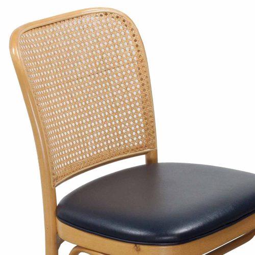 Thonet-Wicker Side Chair-Navy-04