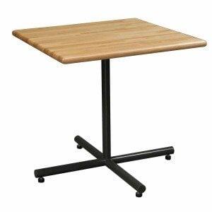 Butcher Block Table-30x30-Maple-01