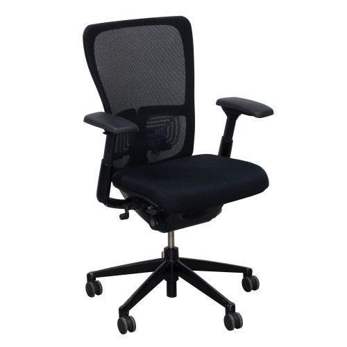 Haworth Zody Mesh Back Used Task Chair Black