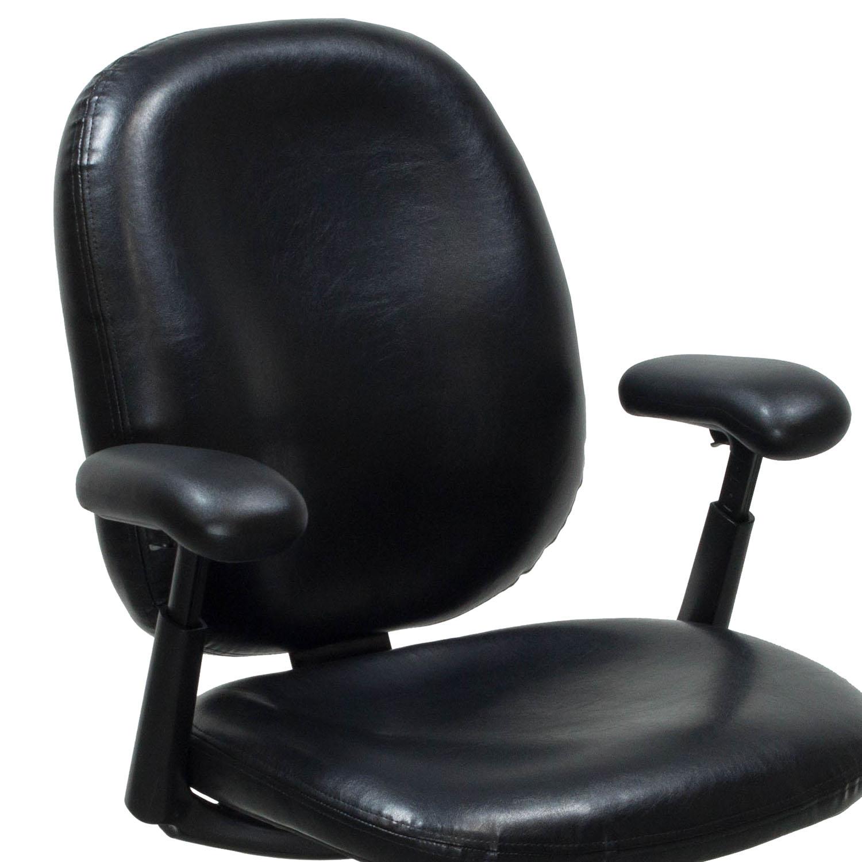 herman miller ergon used size b leather task chair black