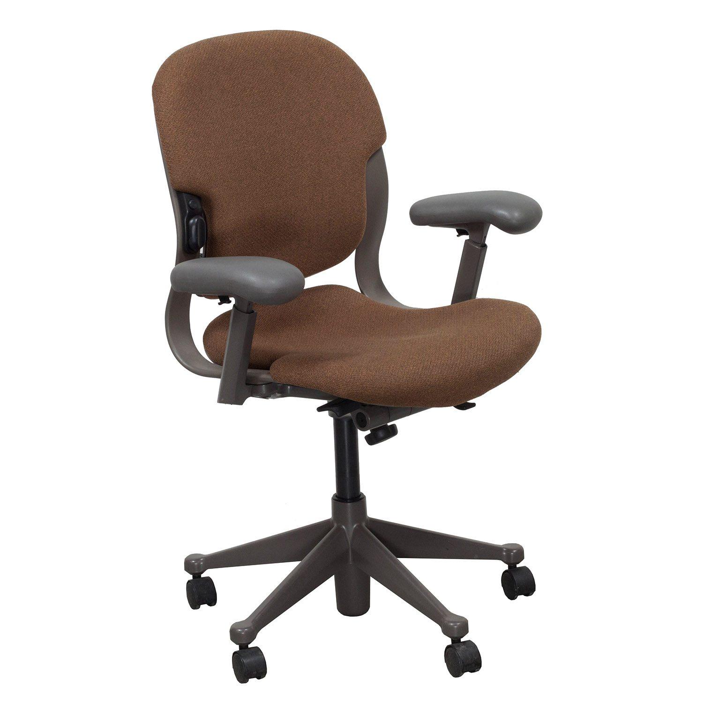 Herman miller equa mid back used task chair rust for Hermann muller chairs