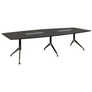 Morgan-Gray Veneer-3 Base Conference Table-01