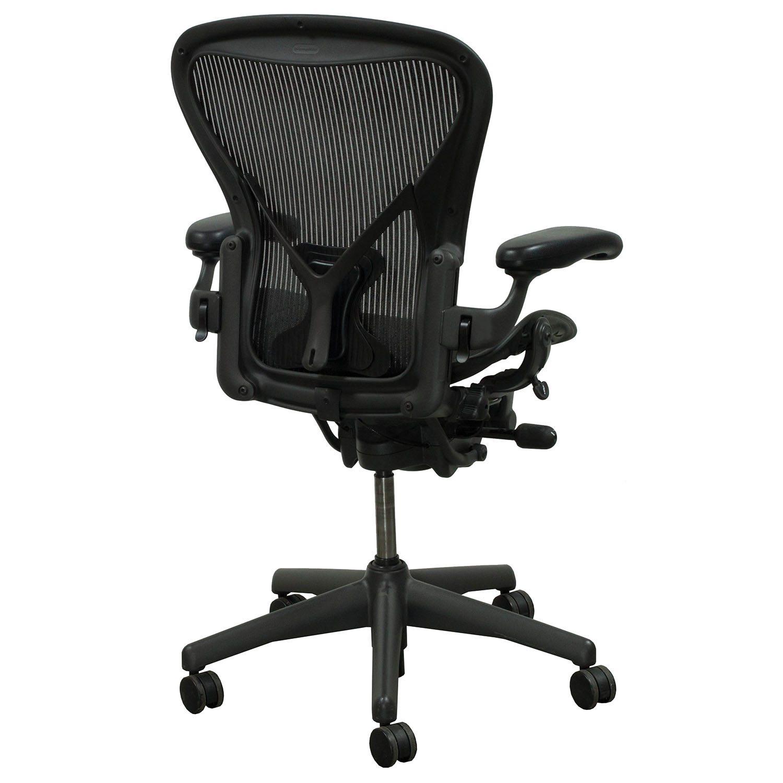 miller aeron herman miller aeron posturefit used size b task chair