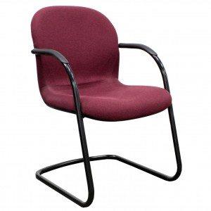 Herman Miller Burgundy Side Chair-01