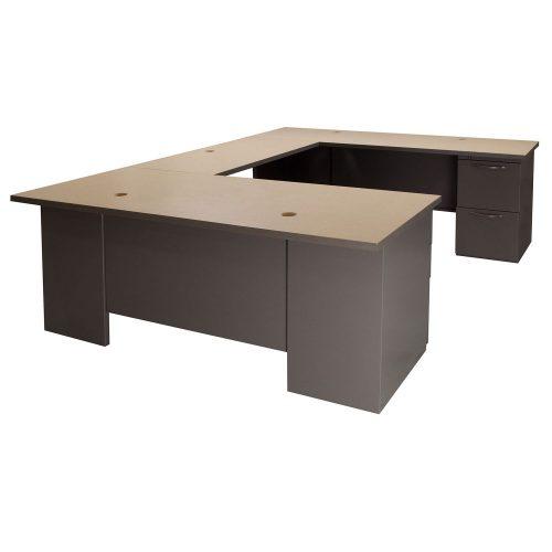 Herman Miller Used Right Return 72 Inch U Shaped Desk Gray
