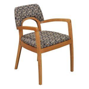 Bernhardt-Geo Pattern-Wood Frame-01
