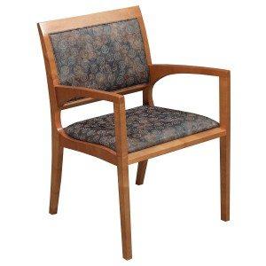 Bernhardt-Sprial Side Chair-Cherry-001
