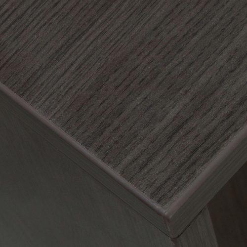 goSIT Everyday Gray L-Shape Right Return Reception Desk - Corner