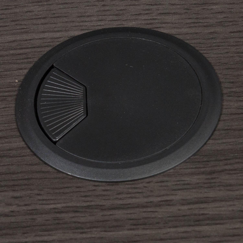 Everyday Plus- 3060-Single Pedestal Desk-Gray-04