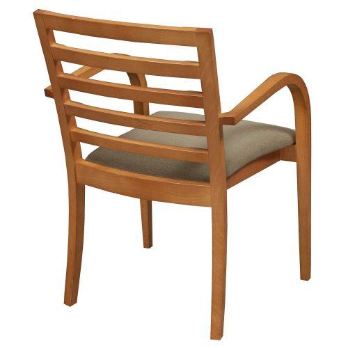 lowenstein used wood side chair green