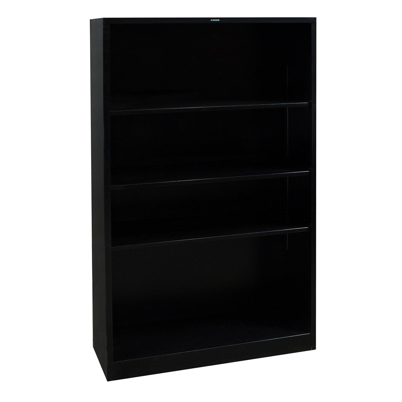 Home / Storage & Filing / Bookcases / Hon Used 4 Shelf Bookcase, Black