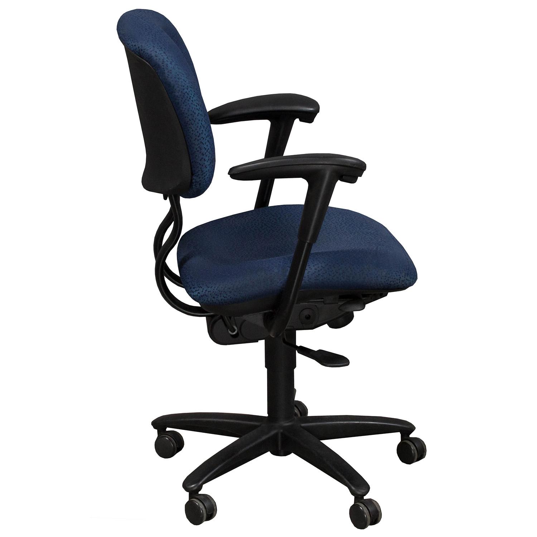 Haworth Improv Desk Used Task Chair Blue
