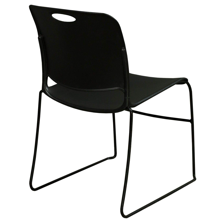 KI Maestro Plastic Used Stack Chair Black
