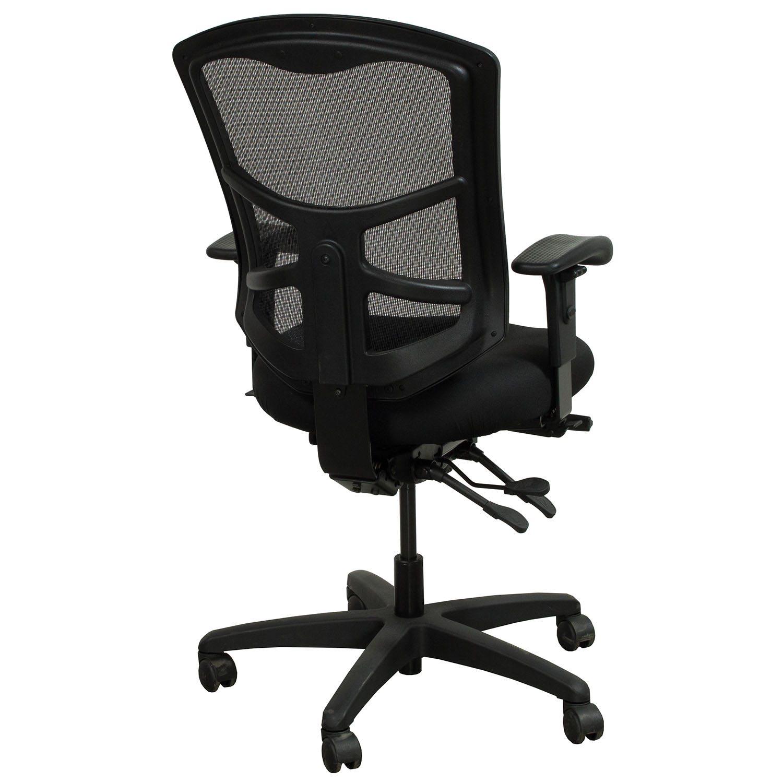 fice Master YS88 Used Mesh Back Task Chair Black